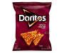 Doritos Spicy Nacho Flavored Tortilla Chips 9.75 Ounce Plastic Bag