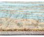 Dorsey Blue Formation Area Rug 3 feet 10 inch x 5 feet 5 inch silo front corner