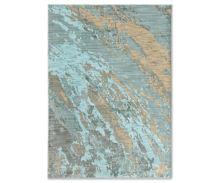 Dorsey Blue Formation Area Rugs Big Lots
