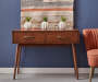 Draper Mid Century Modern Console Table lifestyle