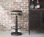 Drum Inspired Wright Leather Barstool lifestyle
