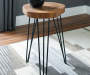 EVERSBORO BROWN ACCENT TABLE