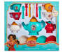 Elena of Avalor 26 Piece Dinnerware Play Set In Package Overhead View Silo Image
