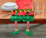Elf Suit Table Runner 13 inch x 72 inch lifestyle