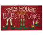Elf Surveillance Rubber Outdoor Doormat  Silo Image