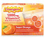 Emergen-C (30 Count, Super Orange Flavor, 1 Month Supply) Dietary Supplement Fizzy Drink Mix with 1000mg Vitamin C, 0.32 Ounce Packe