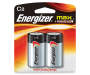 Energizer Max C Type Batteris in Package Silo Image