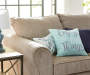 Enjoy the Little Things Throw Pillow 18 inches by 18 inches Lifestyle