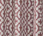 Ethan Spice Trellis Room-Darkening Single Curtain Panel 63 inches Swatch