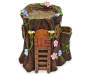 FAIRY GARDEN TREE TRUNK  HOUSE