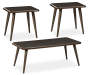 FAZANI BROWN OCCASIONAL TABLE SET