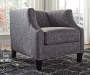 FELSBERT CHARCOAL ACCENT CHAIR