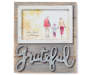 FM PHOTO FRAME WOOD PLANK 4x6 GRATEFUL