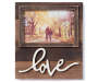 FM PHOTO FRAME WOOD PLANK 4x6 LOVE