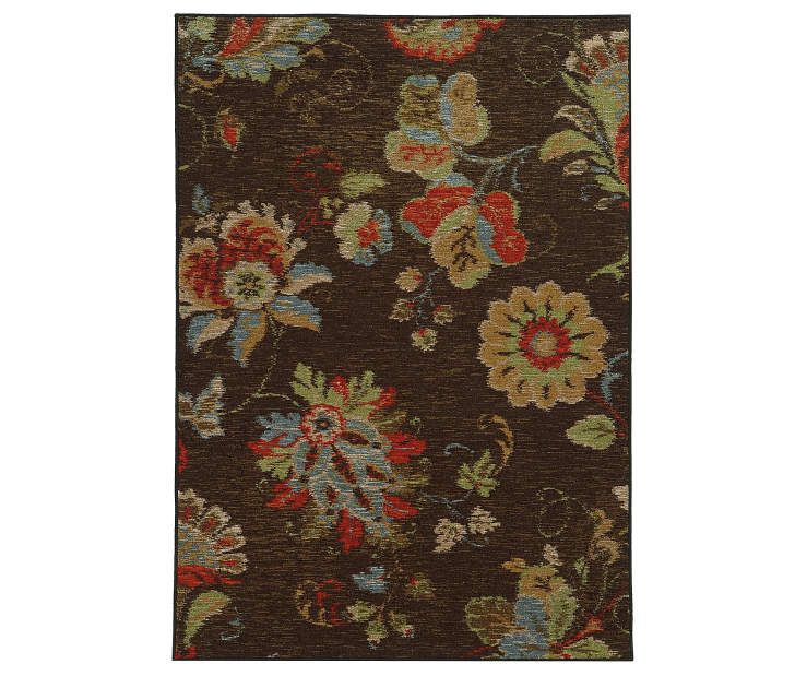 Fairfield Brown Area Rug 7FT10IN x 10FT Silo Image