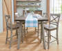 Fairhaven Counter Height Barstools with Dining Table Lifestyle