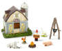 Fairy Garden Farm House Set 8 Pack Silo