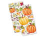 Fall Pumpkin and Phrases Kitchen Towels 2 Pack silo front
