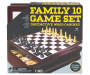 Family 10 Game Set silo front package image