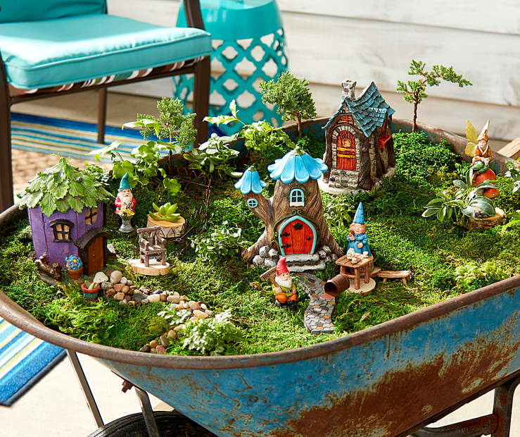 More 5 Fantastic Simple Home Garden Design: Fantastic Fairy Homes And Gnomes Collection