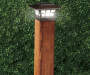 Fence Post Solar Lights 2 Piece Set lifestyle