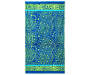 Fiji Blue Medallion Beach Towel 34 inches x 64 inches silo front