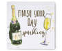 Finish Your Day Sparkling Box Wall Plaque silo front