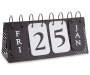 Flip Card Table Top Calendar Silo