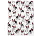 French Bulldogs Wearing Glasses Soft Throw silo front