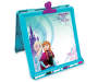 Frozen Anna and Elsa Double Sided Tabletop Easel White Board Side Angled View Silo Image