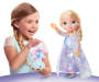 Frozen Northern Lights Elsa Doll silo front with children model