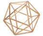 GB GOLDEN IRON GEOMETRIC SHAPE DECOR
