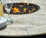 GRANDVIEW 54 IN ROUND HIGH DINING FIRE PIT TABLE