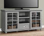 GREY 55IN TV STAND/BUFFET