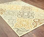 Gaines Warm White Indoor Outdoor Area Rug 6 feet 7 inch x 9 feet 6 inch lifestyle