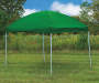 Game Day Gear Green Pop-Up Sun Shelter, (8' x 10') outside environment