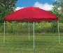 Game Day Gear Red Pop-Up Sun Shelter, (8' x 10') outside environment