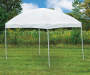Game Day Gear White Pop-Up Sun Shelter, (8' x 10') outside environment