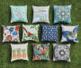 Garden Bird Outdoor Throw Pillow 20in collection