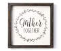 Gather Together Wooden Wall Plaque Silo
