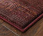 Gilson Red and Tan Runner Rug 2 feet 3 inch x 7 feet 6 inch lifestyle