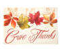 Give Thanks Printed Placemat Overhead View Silo Image