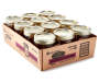 Golden Harvest Jelly Jars 12 Pack Angled View Silo Image