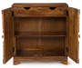 Govinda Storage Sideboard Silo Front VIew Open