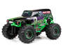 Grave Digger Monster Jam Remote Control Truck silo angled
