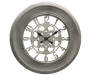Gray Champ Wall Clock 23 inches Silo Image