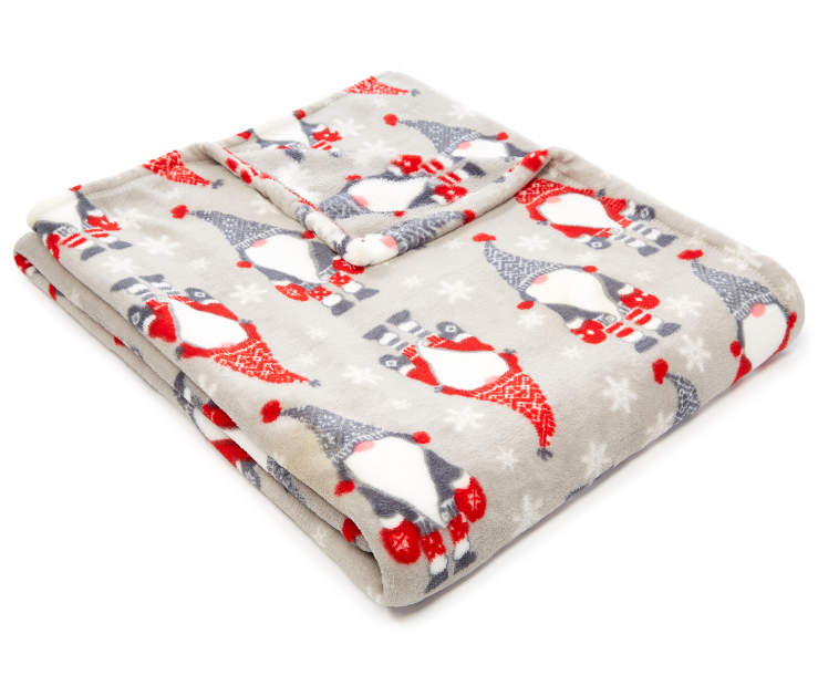 Gray Gnomes Soft Throw silo front