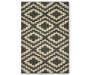 Gray Harlow Accent Rug 20 by 34 Silo