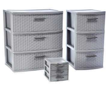 Lots Sterilite 3 Drawer