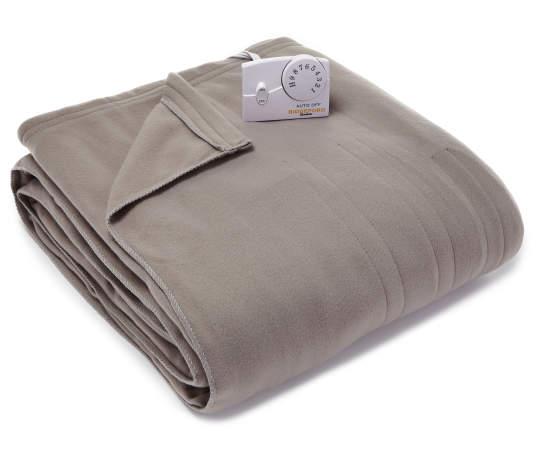Biddeford Gray Twin Electric Blanket Big Lots